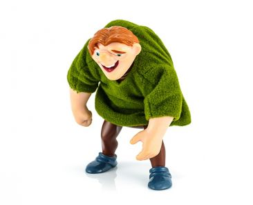 BangkokThailand - October 30 2014: Quasimodo toy model character from Hunchback of Notre Dame american animated musical drama film.